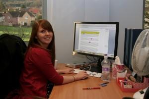 Sandra-at-desk